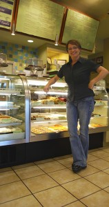 Donna R. Manager of the Lewisville Location of Savannah Cafe & Bakery